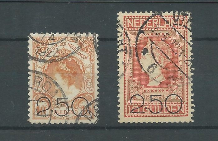 Nederland 1920 - Clearance issue - NVPH 104/105