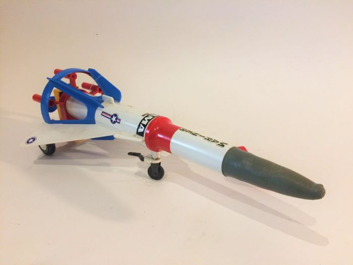 Gama - Germany - Mariner rocket - 32.5 cm - battery-operated