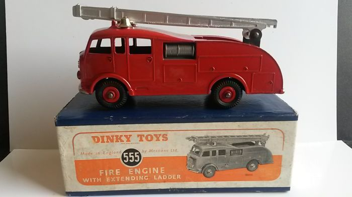 Dinky Toys - 1:48 - Camion Pompiers No.555 - 1952