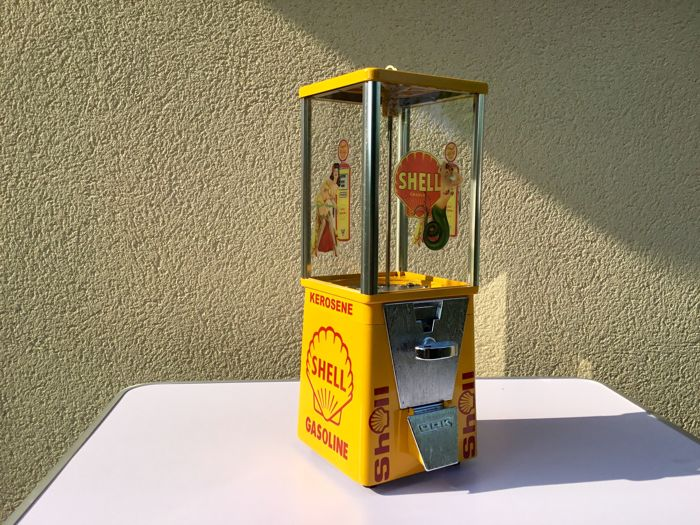 Oak Vista USA Candy Machine. 1960. Shell Theme
