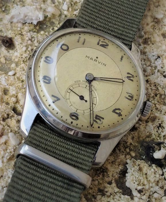 Marvin - style militaire calibre 565 - Men - 1901-1949