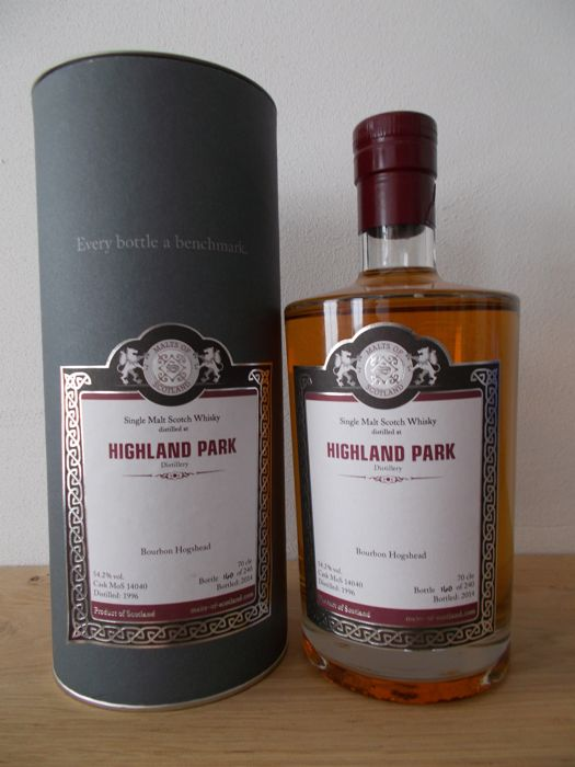 Highland Park 1996 - Malts of Scotland