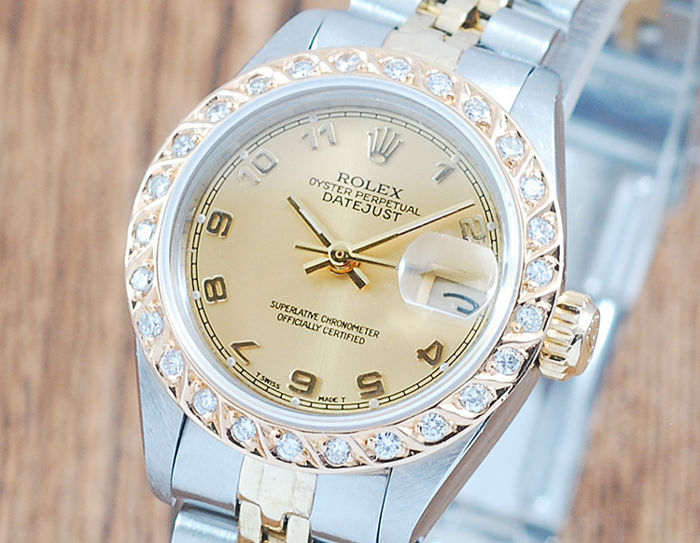Rolex - Oyster Perpetual Datejust  - 6917 - Kvinnor - 1980-1989
