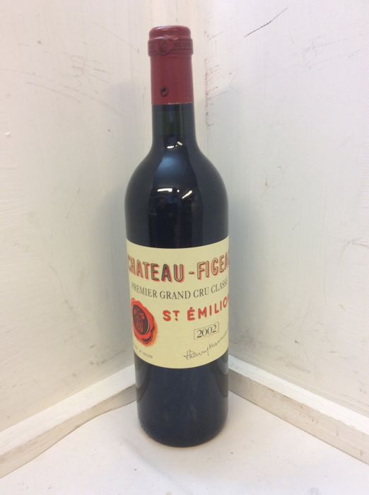 2002 Chateau Figeac, Saint-Emilion 1er Grand Cru Classé - 1 bottle