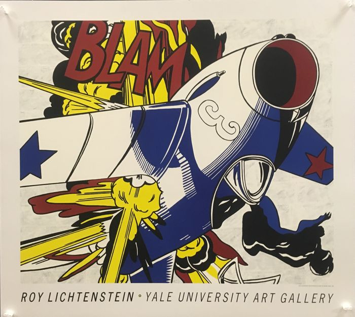 Roy Lichtenstein - Yale University Art Gallery (BLAM, 1962) - 1991