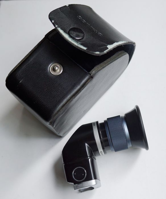 Angle viewfinder for SLR OLYMPUS film type OM
