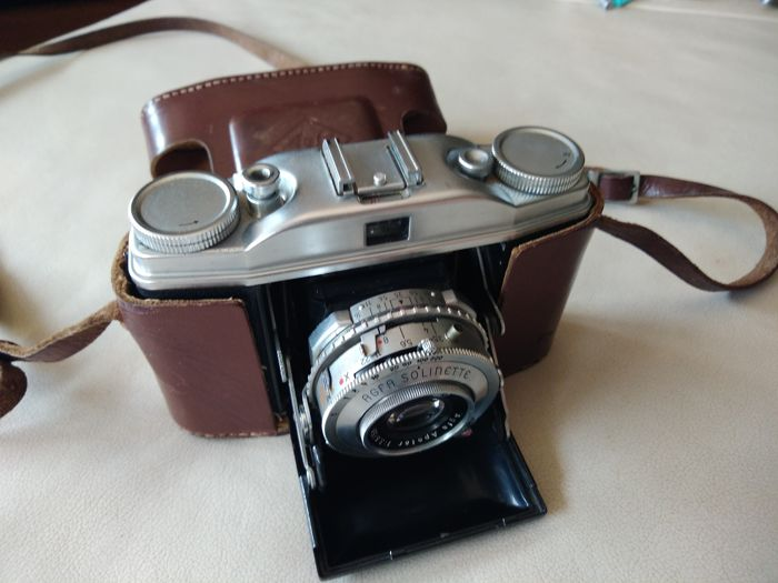 Beautiful old Agfa Solinette with lens Agfa outfit 1: 3.5 / 50 mm