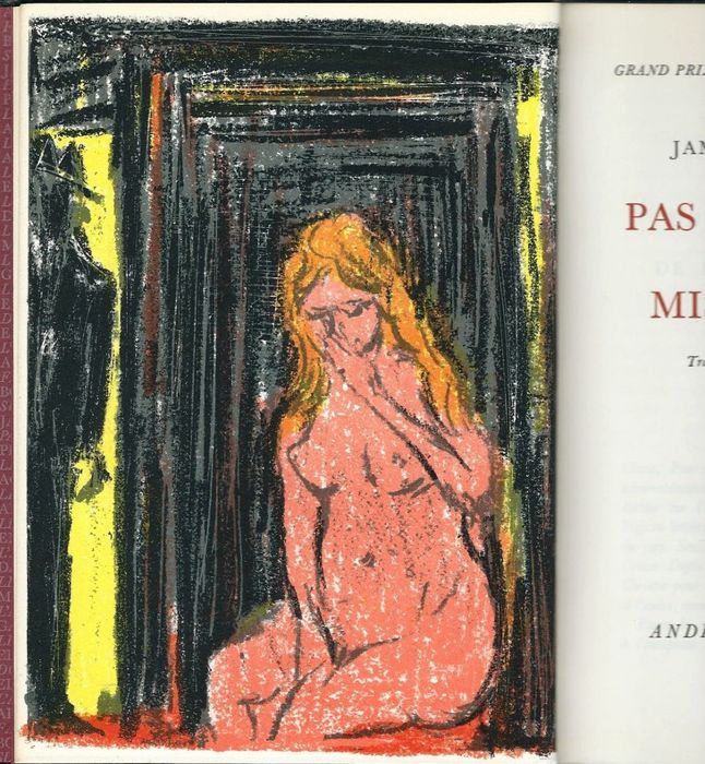 James Hadley Chase  - Pas d'Orchidées pour Miss Blandish. Lithographies originales de Cottavoz - 1969