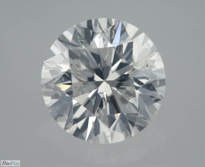 0.70 Carat F SI2 Round Certified & Sealed - Very Low Reserve !