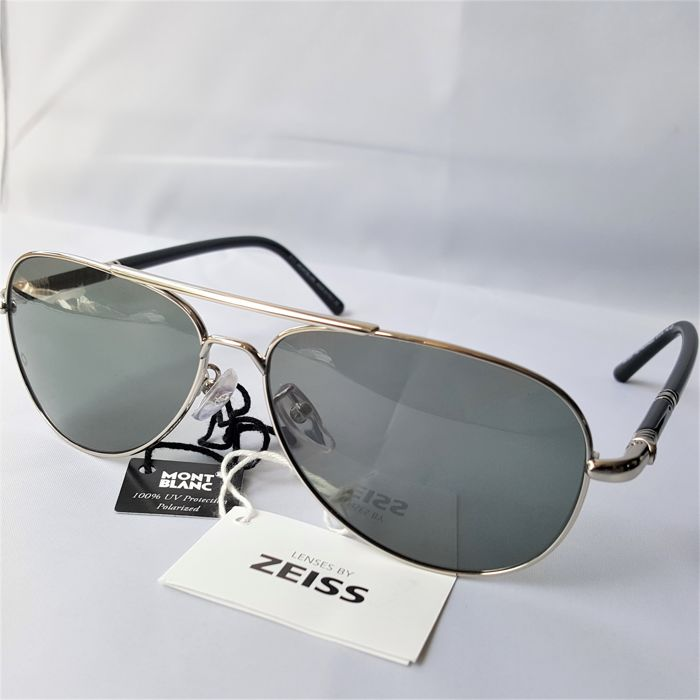 Montblanc - Aviator Polarized ZEISS - New - Made in Italy Zonnebril