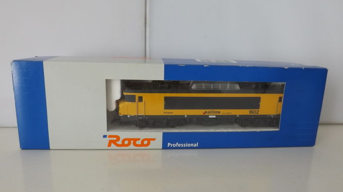 Roco H0 - 63553 - Electric locomotive - Railion NS 1602 Schiphol - NS, Railion
