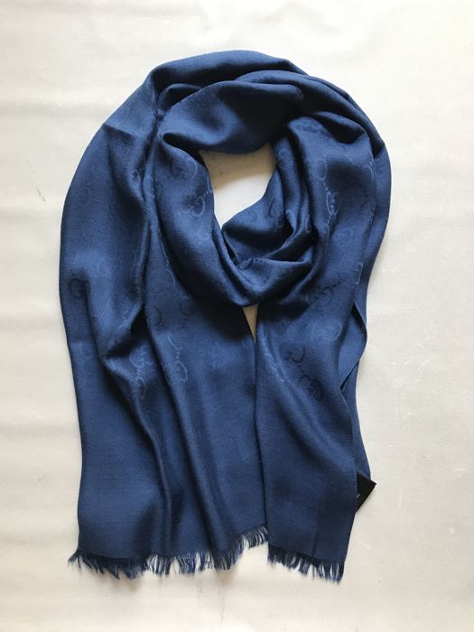 Gucci - Men's scarf in wool and silk