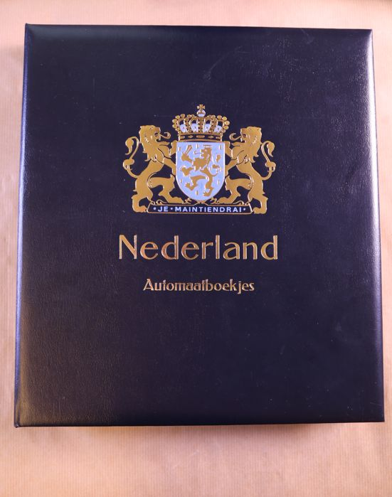 Nederland 1964/2002 - Complete collection of stamp booklets in Davo LX print album with cassette - -