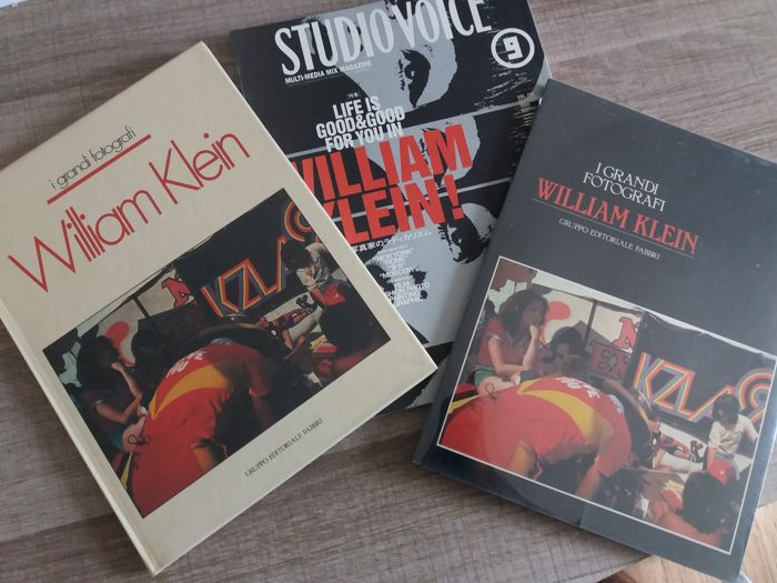 Signed; William Klein - Lot of 3 signed books  - 1982/1999