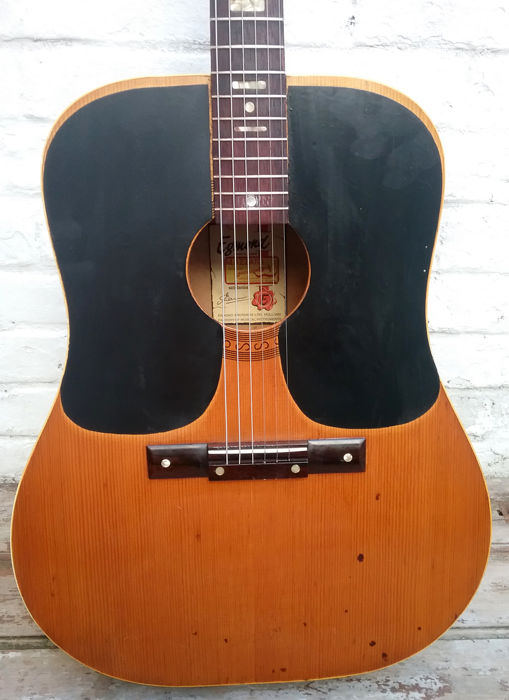 EGMOND Dreadnought Folk Guitar from the 60s/70s