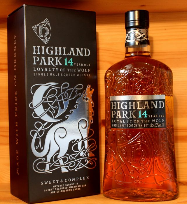 Highland Park 14 year old, Loyalty of the Wolf, 1 Litre