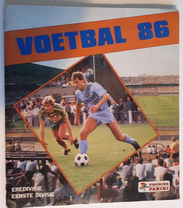 Panini - Voetbal 86 - Dutch Eredivisie and first division season 85/86 - Complete album