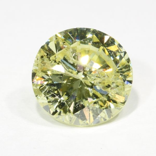 Certified brilliant cut diamond 1.32 ct, Natural Fancy Yellow