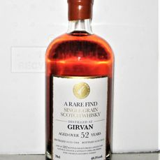 Girvan 1964 - 52 years old - 70cl - 49,3% - Original bottling - only 182 bottles