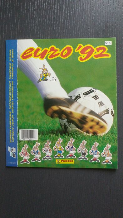 Panini - Euro 92 - New empty album.