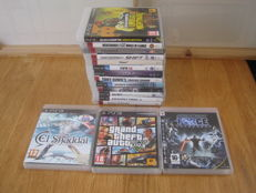 16 Original Sony PS3 games some are rare: El Shaddai+GTA V+ Star wars the Force unleased+Red dead Redemption+Need for speed shift 2+etc