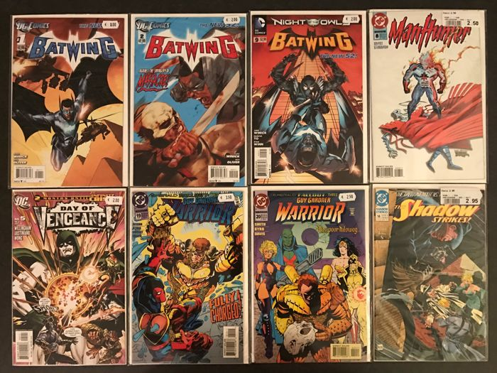 Various DC Comics - Including Batwing, Hawkman, Outcasts + More - Softcover - First edition