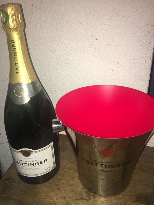 1 magnum (1,5L) of Champagne Taittinger 'Cuvée Prestige' with Taittinger Champagne Cooler