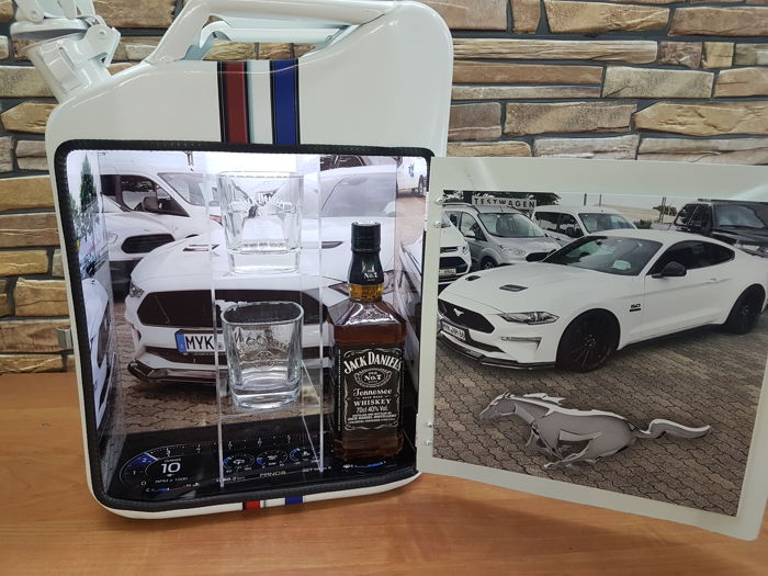 Tank - Jerrycan Privat bar in MUSTANG GT - 2018-2018 (1 items)