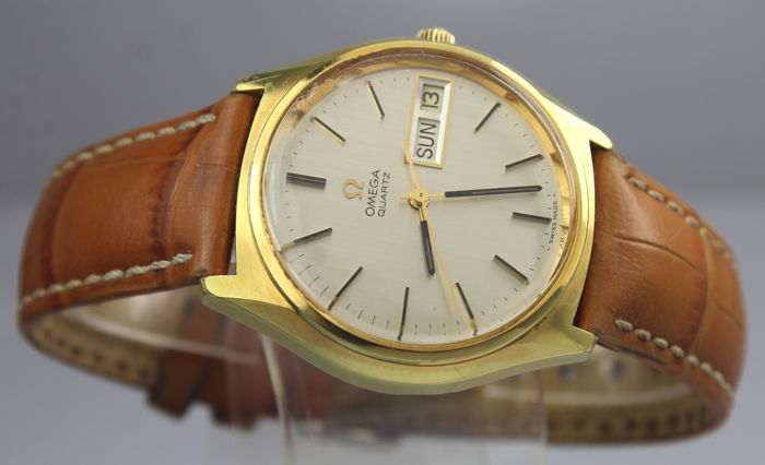 "Omega - Geneve 1976 Gold Plated ""NO RESERVE PRICE"" - ST 196.0065 - 36 mm Case - Heren - 1970-1979"