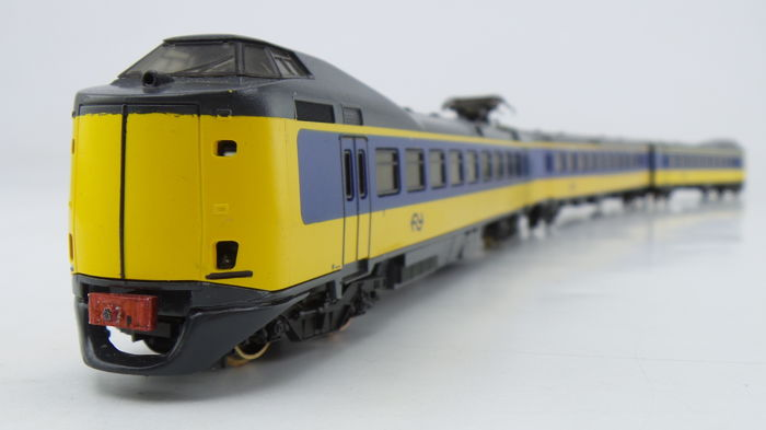 "Lima H0 - 149807G - Train unit - 3-part intercity trainset ICM-0 ""Koploper"" - NS"