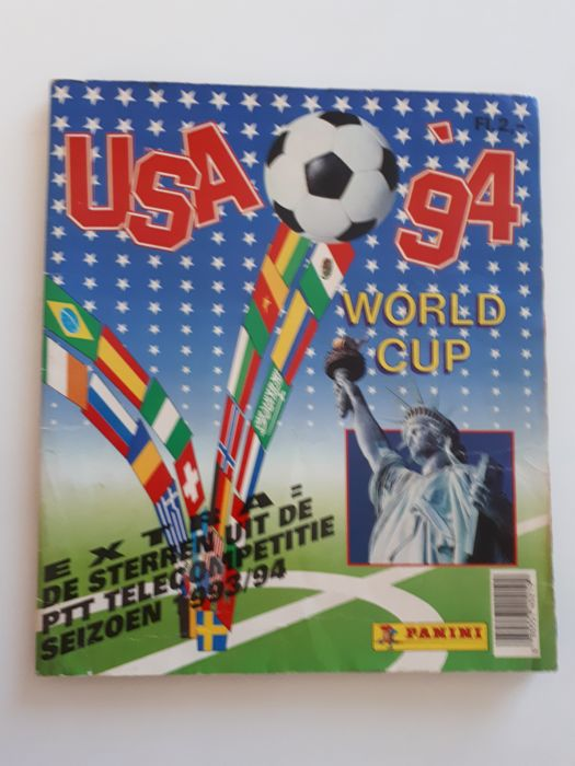 Panini - World Cup USA 94 - Complete album - Dutch version