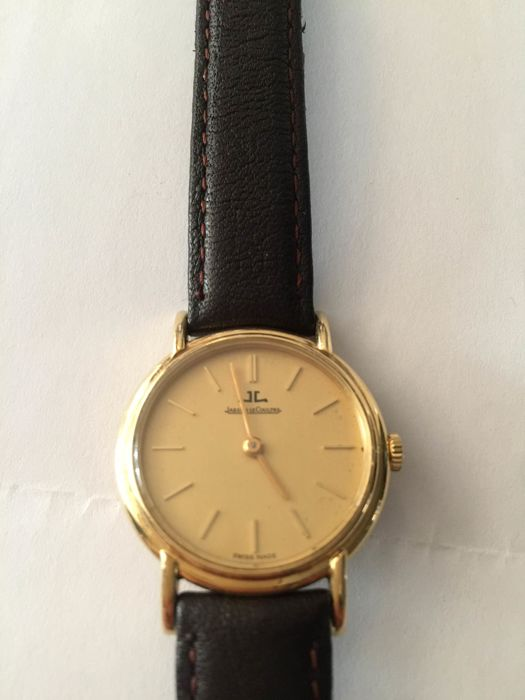 Jaeger LeCoultre women's watch 1977 with certificate
