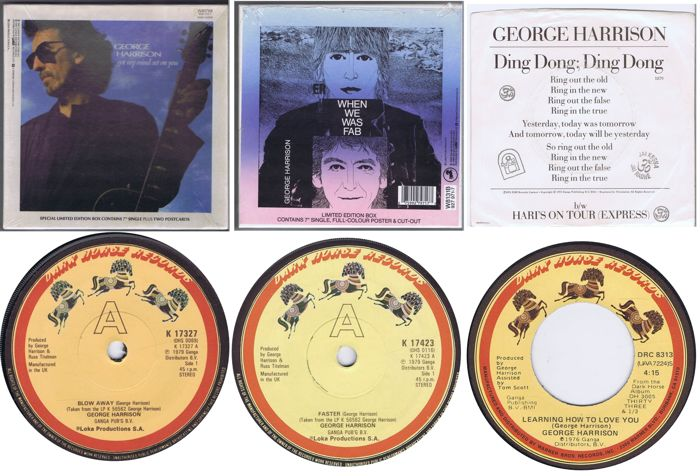 George harrison lot of 2 limited 7 45rpm single box sets plus 4 george harrison lot of 2 limited 7 45rpm single box sets plus 4 ccuart