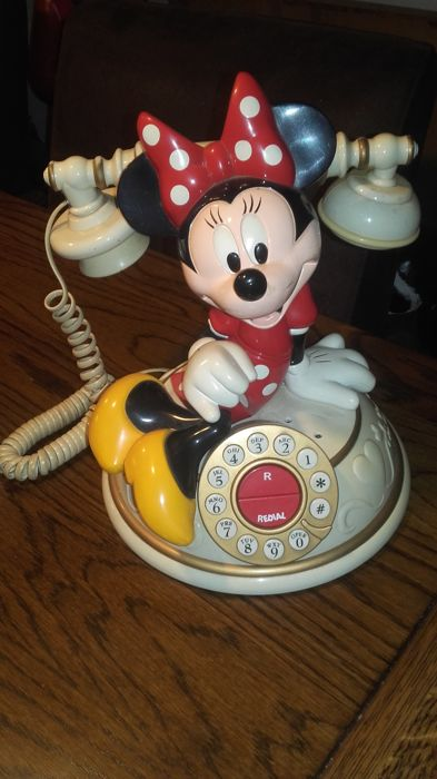 Disney - Telefoon - Minnie Mouse  - Other - (1980)
