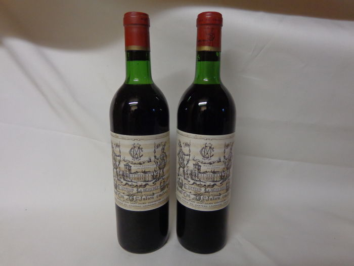 1970 Chateau Lagrange, 3ème Grand Cru Classé St. Julien - 2 bottles