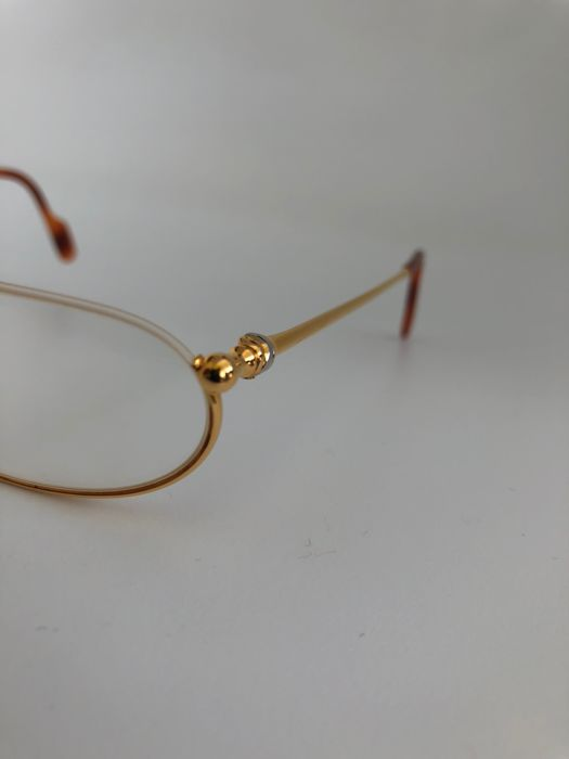 895fa757a6 Cartier - Demi Lune 18KT goldplate Occhiali - Vintage - Catawiki