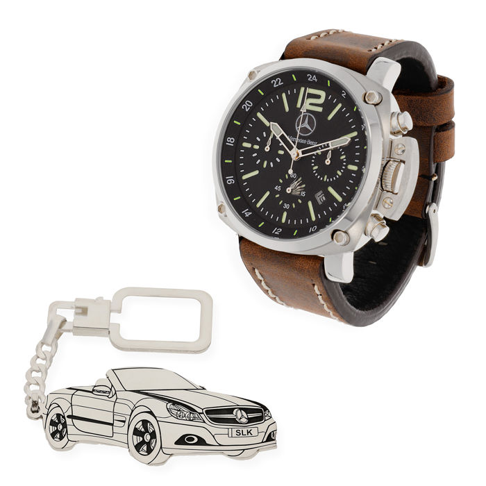 Reloj y LLavero - Mercedes Benz SLK - 2017-2017 (2 items)
