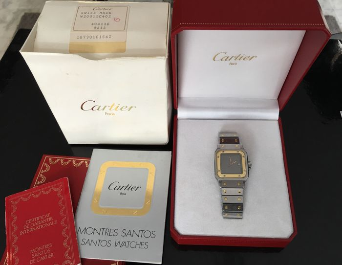 Cartier - Santos Galbee Automatic full set anniversary model - Unisex - 1980-1989
