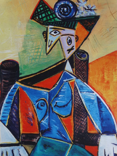 Pablo Picasso (after)  - Seated Woman