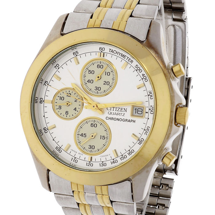 Citizen - Chronograph - 0510-C502235 KA - Men - 1990-1999