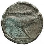 Greece (ancient) - Teate. Quadrunx. AE, after 220 BC