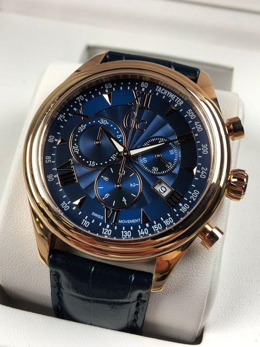 """Guess collection - Smart Class Chronograph  - """"NO RESERVE PRICE"""" - Y04008G7 - Heren - 2011-heden"""