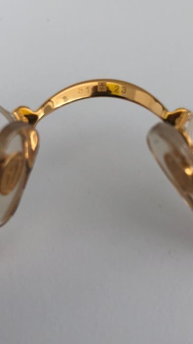 dd405f218f Cartier - Demi Lune 18KT goldplate Glasses - Vintage - Catawiki