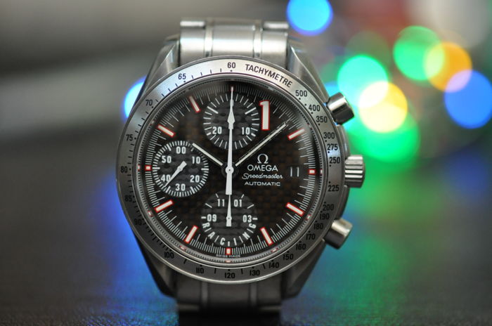 Omega - Speedmaster Automatic Michale Schumaher Edition. - 175.0043 - Men - 2000-2010