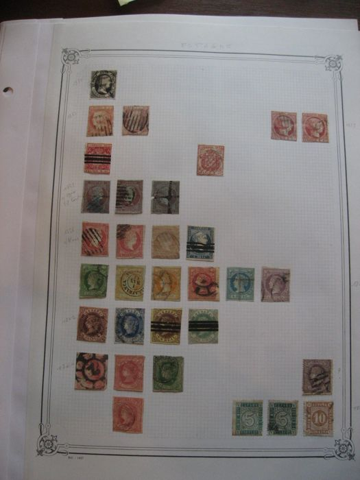 Espagne et Malte 1851/1988 - Advanced Stamp Collection including Air Mail