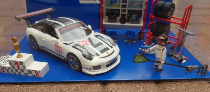 playmobil winkeldisplay porsche 911 gt3 cup catawiki. Black Bedroom Furniture Sets. Home Design Ideas