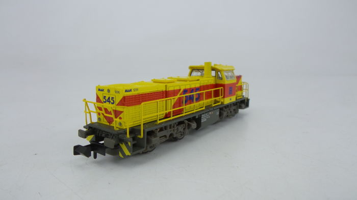 Piko N - 40400 - Diesel locomotive - MaK G1206 from ThyssenKrupp