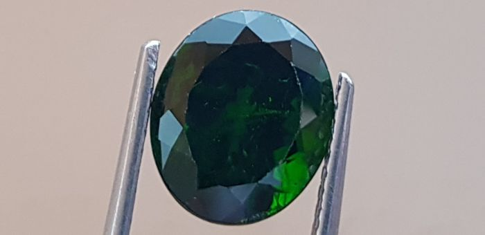 Chrome Diopside - 6.23 ct