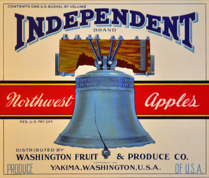 Anonymous - Independent Northwest Apples - ca 1931