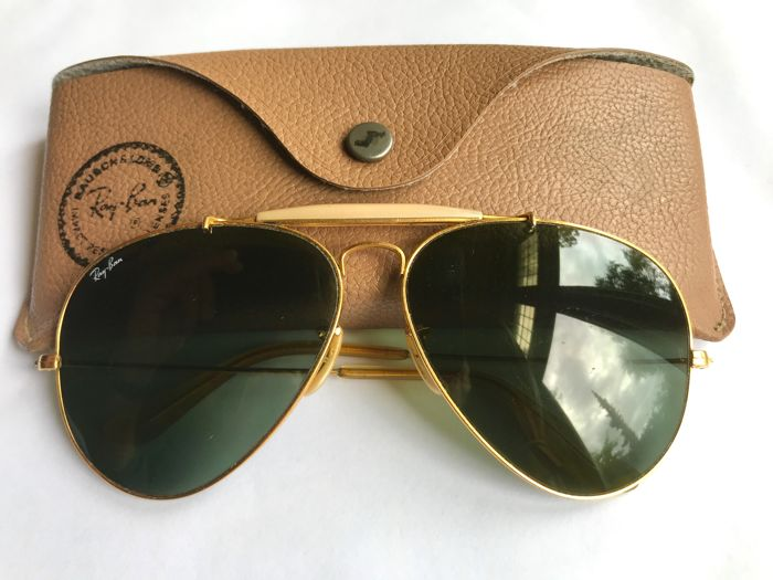 abecd88e04757 Ray-Ban B L - Ray-Ban Aviator Outdoorsman Sunglasses - Vintage ...